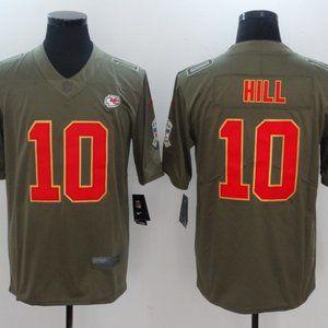 Men's Kansas City Chiefs #10 Tyreek Hill Jersey